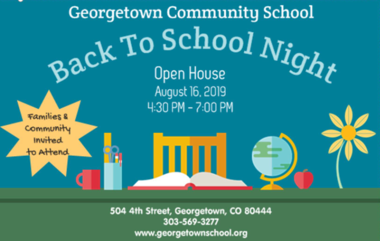 Back to School Night! - Georgetown Community School